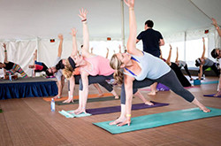 yoga fest dates pose